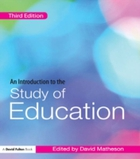 Introduction to the Study of Education