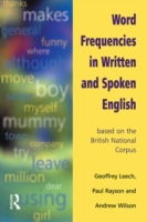 Word Frequencies in Written and Spoken E