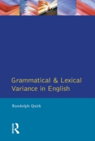 Grammatical and Lexical Variance in Engl