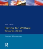 Paying For Welfare