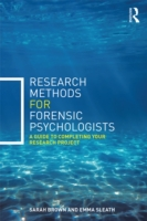 Research Methods for Forensic Psychologi