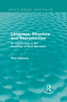 Language, Structure and Reproduction (Ro