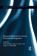 Research Methods for Human Resource Mana