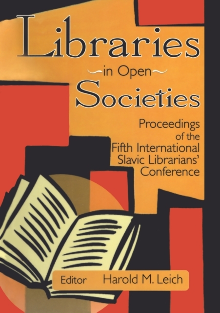 Libraries in Open Societies