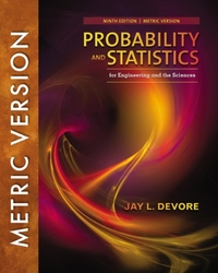 Probability and Statistics for Engineeri