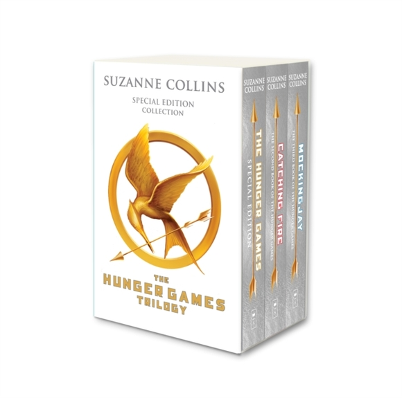 Hunger Games Trilogy (white anniversary
