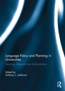 Language Policy and Planning in Universi