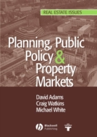 Planning, Public Policy and Property Mar