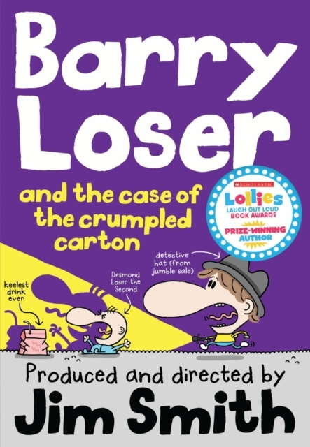 Barry Loser and the Case of the Crumpled