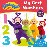 Teletubbies: My First Numbers Lift-the-F