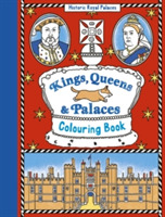 Kings, Queens and Palaces Colouring Book