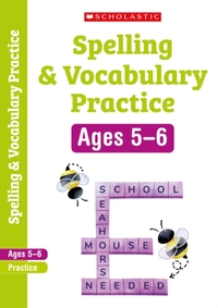 Spelling and Vocabulary Workbook (Year 1