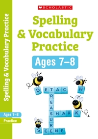 Spelling and Vocabulary Workbook (Year 3