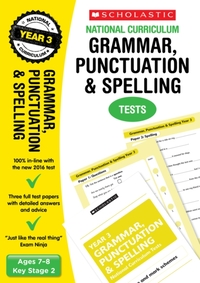 Grammar, Punctuation and Spelling Test -