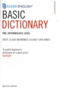 Easier English Basic Dictionary