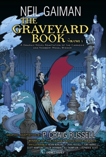 Graveyard Book Graphic Novel
