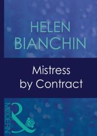 Mistress by Contract (Mills & Boon Moder