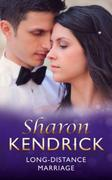 Long-Distance Marriage (Mills & Boon Vin