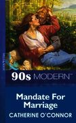 Mandate For Marriage (Mills & Boon Vinta