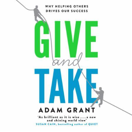 Bilde av Give And Take: A Revolutionary Approach To Success