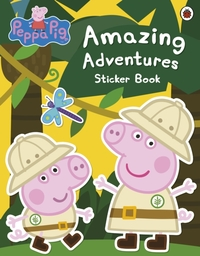 Peppa Pig: Amazing Adventures Sticker Bo