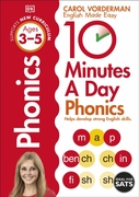 10 Minutes A Day Phonics, Ages 3-5 (Pres