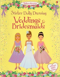 Sticker Dolly Dressing Weddings and Brid
