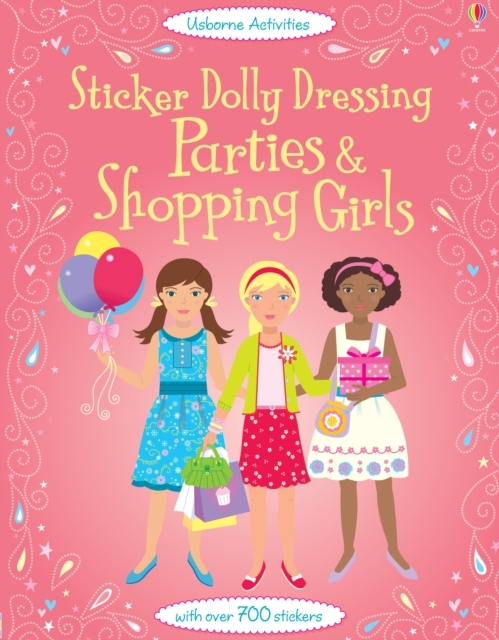 Sticker Dolly Dressing Parties and Shopp