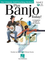 Play Banjo Today] Level One (Book And CD
