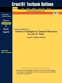 Outlines & Highlights for Classical Mech