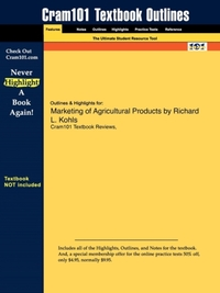 Studyguide for Marketing of Agricultural
