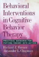 Behavioral Interventions in Cognitive Be