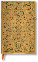 PAPERBLANKS GOLD INLAY MINI, LINJERT