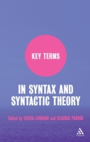 Key Terms in Syntax and Syntactic Theory