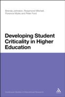 Developing Student Criticality in Higher