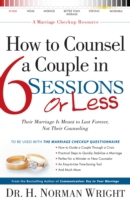 How to Counsel a Couple in 6 Sessions or