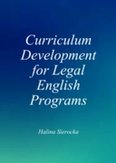 Curriculum Development for Legal English