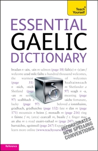 Essential Gaelic Dictionary: Teach Yours