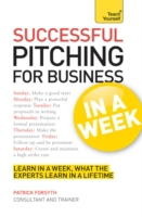 Successful Pitching For Business In A We
