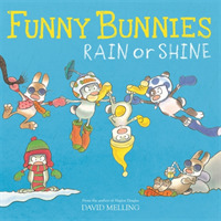 Funny Bunnies: Rain or Shine