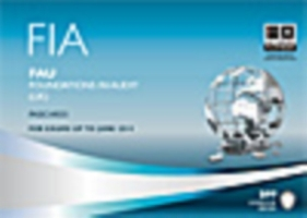 FIA Foundations in Audit (UK) - FAU Pass
