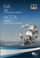 FIA Foundations of Accounting in Busines