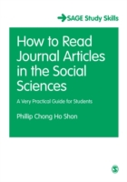 How to Read Journal Articles in the Soci