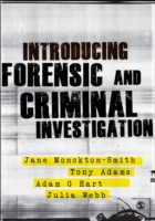 Introducing Forensic and Criminal Invest