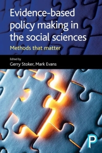 Evidence-based policy making in the soci