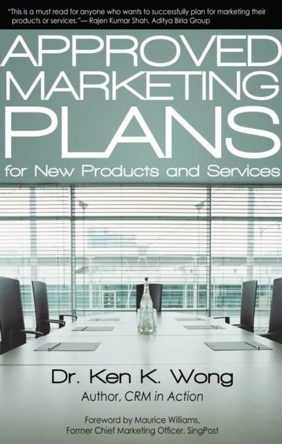 Approved Marketing Plans for New Product