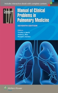 Manual of Clinical Problems in Pulmonary