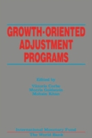 Growth-Oriented Adjustment Programs: Pro