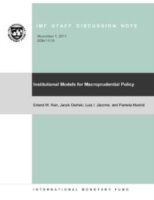 Institutional Models for Macroprudential