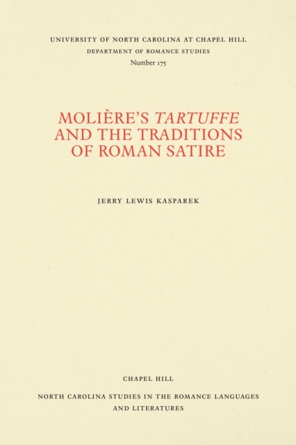 Moliere's Tartuffe and the Traditions of